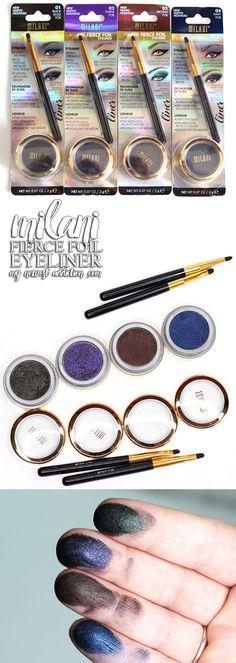 Milani Fierce Foil Eyeliners - My Newest Addiction