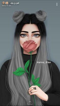 art angel Sticker by Beautiful Girl Drawing, Cute Girl Drawing, Cartoon Girl Drawing, Tumblr Girl Drawing, Girl Drawing Sketches, Black Girl Art, Black Girls, Black Art, Sarra Art