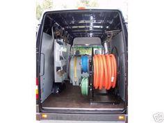 Judson Reactor Truckmount in a Sprinter Van.  The Reactor is a Heat Exchange truckmount.  http://judsontruckmounts.com
