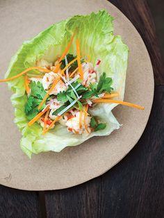 Grilled Shrimp Lettuce Cups   SAVEUR