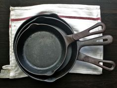 Equipment: How to Buy, Season, and Maintain Cast Iron Cookware