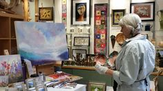 Fine Art Paintings - by Jo Ridge Kelley featured artist at Mountain Made, A…