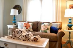 @Jennifer McCormick's living room...love it!