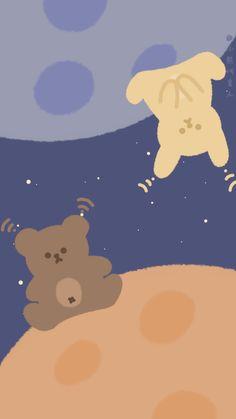 Cute Pastel Wallpaper, Soft Wallpaper, Bear Wallpaper, Cute Patterns Wallpaper, Aesthetic Pastel Wallpaper, Cute Anime Wallpaper, Wallpaper Iphone Cute, Aesthetic Wallpapers, Cute Wallpaper Backgrounds