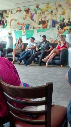 Panel at Spartacon...Vanessa,Stephen, Barry & Ellen
