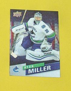 Ryan  Miller Franchise Force FF-9  2015-16 Upper Deck  Hockey Tim Hortons #VancouverCanucks