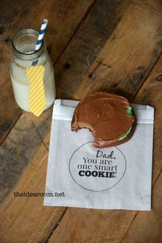 Fathers Day Cookie Gift Idea