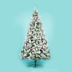1.8m Snow Flocked Tree