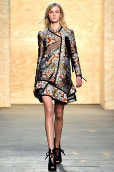 Proenza Schouler Fall 12   Look 31: iconic piece from this show