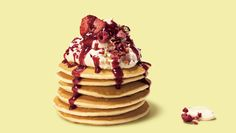 Berry Pancakes made with Marcel's Happy Pancakes