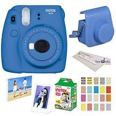 100% True Pu Leather Camera Bag For Fuji Fujifilm Instax Mini 8 8 Accessories & Parts Digital Gear Bags 9 Funny Facial Expression Camera Case For Polaroid Instant Film Bags Pure And Mild Flavor