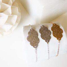 "Silver ""cloud"" bracelet Source by Tassel Jewelry, Diy Jewelry, Jewelery, Jewelry Bracelets, Handmade Jewelry, Jewelry Making, Diy Leather Earrings, Leather Jewelry, Leather Craft"