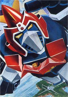 Real Robots, Big Robots, Combattler V, Super Robot Taisen, Daybed Design, Japanese Robot, Japanese Superheroes, Vintage Robots, Mecha Anime