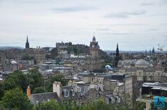 Una din cele mai frumoase capitale Europene, Edinburgh din Scoția