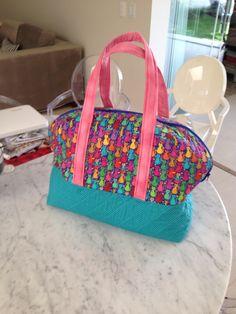 Bolsa para transporte de máquina de costura - patchwork!!!