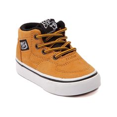 ec447c5cb5d903 Shop for Toddler Vans Half Cab Skate shoe in Wheat at Journeys Kidz. Shop  today