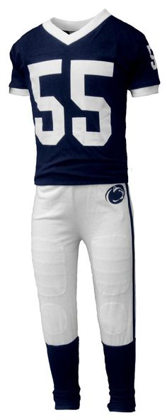 b688294bb1aff Penn State Kids Football Jersey PJ Set - Available in Youth, Toddler and  Infant sizes