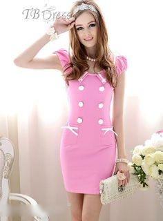 Graceful Slim Short Sleeve Dress