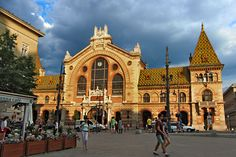 For foods, the Great Central Market in Budapest Hungary Fresh fruits, vegetables, and traditional Hungarian products.