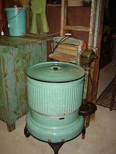 Vintage 1932 green washer! by lorraine