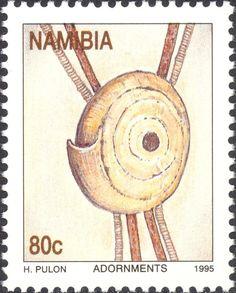 Stamp: Conus shell (Namibia) (Traditional adornments) Mi:NA 799,Sn:NA 788,Yt:NA…