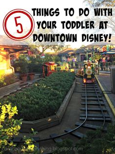 5 Things to do With Your Toddler at Downtown Disney! | Walt Disney World