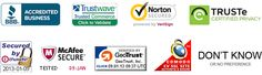Which site seal is most trusted...