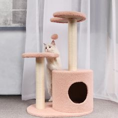 Multifunctional Sisal Cat Scratching Climbing Frame Cat Trees Cheap, Cat Climbing Tree, Sisal Rope, Cat Scratching, Pet Store, Archie, Cat Toys, Cool Cats, Pet Supplies