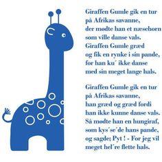 Wallsticker Giraffen Gumle Giraffes Cant Dance, Baby Singing, Work Activities, Diy Games, Music Class, Art Music, Games For Kids, Kids And Parenting, Teaching Kids