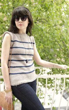Vintage No Sew Sweater Free Pattern