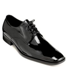 19c74bf7708f Calvin Klein Men s Gareth Tuxedo Oxfords - Black 10 Dress Shoes