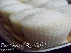 Steamed rice cake ~ Puto, I can't wait to try to make this! Chris - I hope it's as good as what your Mom brought us in college!