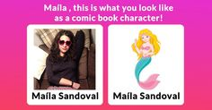 What would you look like as a comic book character?