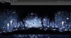 Learn how Team Cherry made side-scroller Hollow Knight with Unity tools including Physics, Sprite Packer, Particle System & the Asset Store's Toolkit. Sprites, Pc Gamer, 2d Game Background, Team Cherry, Deadly, Nostalgia, Photoshop, Zelda, Environment Concept