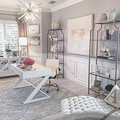 Change the rug, desk, and chair and this room is perfect
