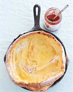 German pancake recipe via Real Simple ... Maybe I can bring Walker Brothers Pancake House to my Louisville home! :-)