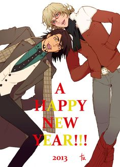 Happy New Year - Tiger and Bunny <3