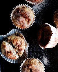 Apple Snickerdoodle Muffins Recipe on Food & Wine | Perfect for Christmas morning eats!