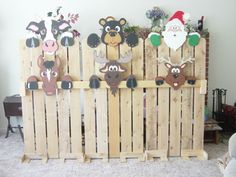 A Small Collection Of Our Fence Peekers These designs are copyrighted by Winfield Collection.