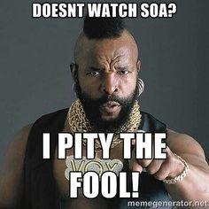 Me Too!! - I pity the fool!!