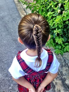 School Day Hairstyles for Little Girls