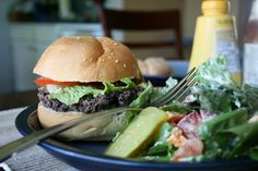 Food and Whine: Black Bean Burgers