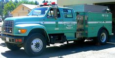 Us forest Service Brush truck