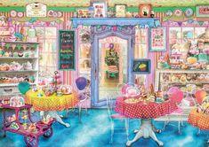 EDUCA Puzzle Cukrárna 1500 dílků