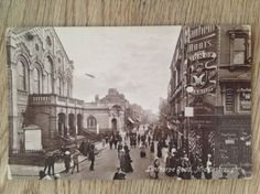 Postcard-Linthorpe-Road-Middlesbrough-by-T-Campling-large-shops-busy-street