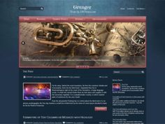 Grunger is a magnificent WordPress theme, it includes easy to use administrative panel, custom widgets, slider, menus and lots of other useful features. Theme developed for a games website, but you can easy adapt it for your wishes.