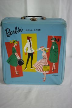 Hey, I found this really awesome Etsy listing at https://www.etsy.com/listing/162393958/blue-vintage-barbie-doll-case-by