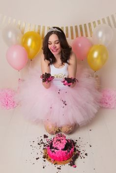 Birthday Photoshoot Ideas Discover If You Thought Cake Smashing Was Just For Babies Check This Out If You Thought Cake Smashing Was Just For Babies Check This Out Adult Cake Smash, Smash Cake Girl, Birthday Cake Smash, Girl Cakes, Twin Birthday, Adult Birthday Party, Birthday Woman, 30th Birthday, Cake Smash Photography