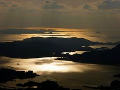 Sunset / Sasebo Bay, Nagasaki (2012/01/02)