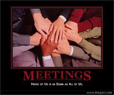 Meetings by kjarrett, via Flickr